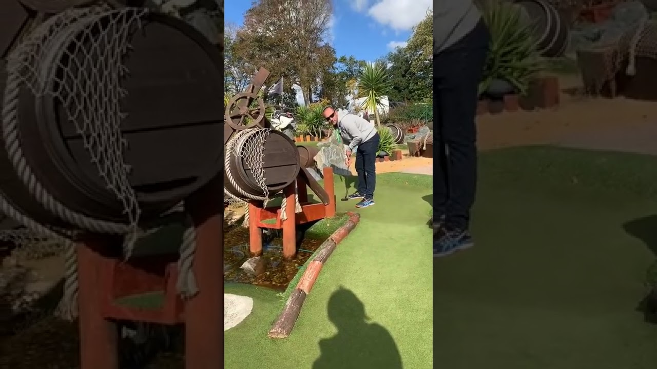 Crazy Golf with ADHD & Tourettes