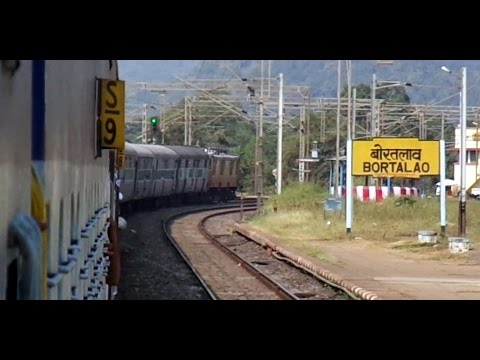 DURG To NAGPUR High Speed Run : Onboard GONDWANA Express (Indian Railways)