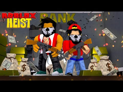 ROBLOX THE HEIST - DONUT & ROPO BECOME PROFESSIONAL BANK ROBBERS!!