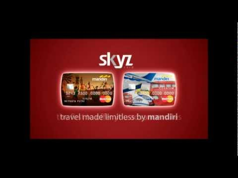 mandiri kartu kredit   skyz card   2012