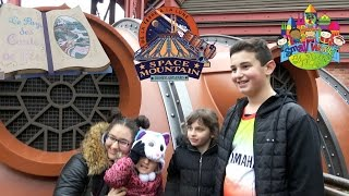 VLOG • SEULE dans SPACE MOUNTAIN @ DISNEYLAND PARIS - Studio Bubble Tea amusement park