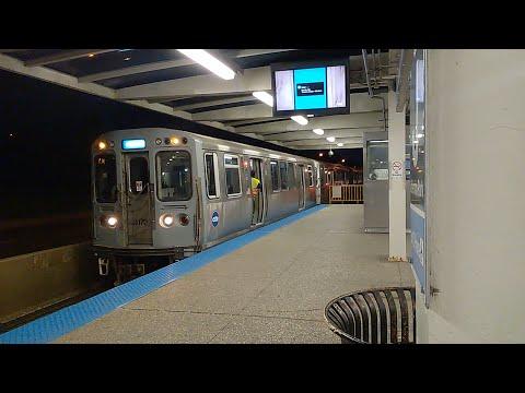 CTA Blue Line at Rosemont and Jefferson Park