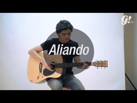 COLDPLAY FIX YOU ( ACOUSTIC COVER ) WITH ALIANDO