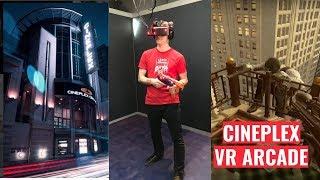 EXPLORING TORONTO   Cineplex VR Arcade