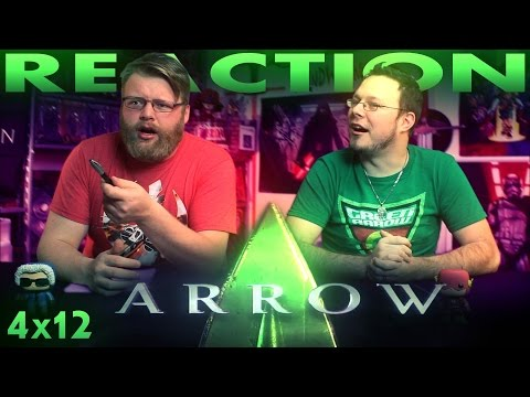 "Arrow 4x12 REACTION!! ""Unchained"""