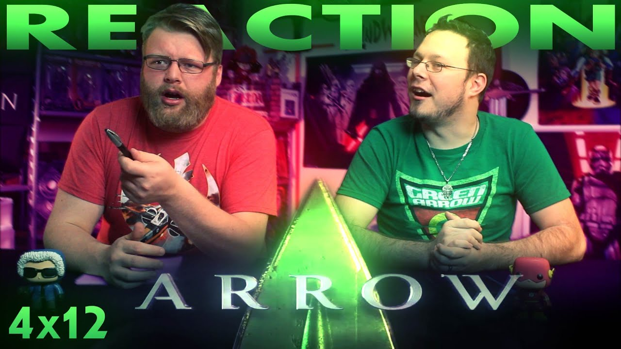"""Download Arrow 4x12 REACTION!! """"Unchained"""""""