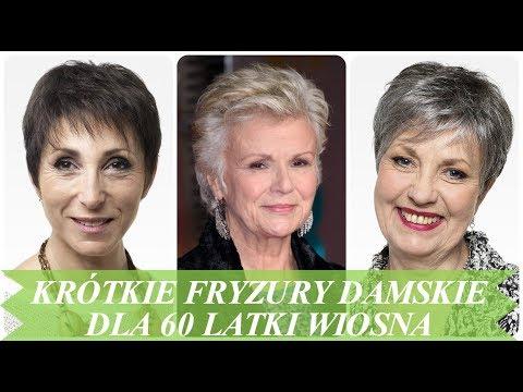 Nowoczesne Krótkie Fryzury Damskie Dla 60 Latki Wiosna 2018