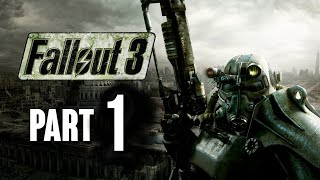Fallout 3 Walkthrough Part 1 - Leaving Vault 101 (Let