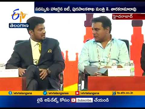 CREDAI Youthcon 2018 Ceremony   Launched by Minister KTR   at Hyderabad