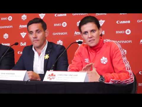 Christine Sinclair: Women's World Cup could change soccer in Canada