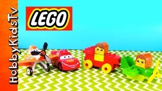 Lego Storybook Read Build Play Cars Lightning Mcqueen Dusty Plane Duplo (6760) By Hobbykidstv