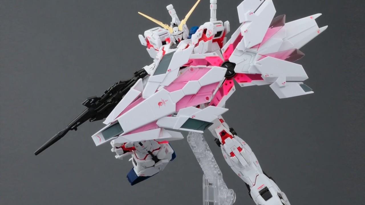 Another Rg Unicorn Gundam Mg Banshee Ver Ka Rg Banshee Unicorn