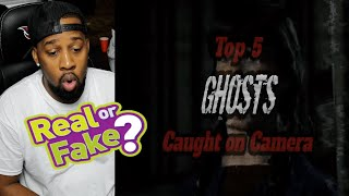 5 SCARY Ghost Videos That WILL Give You The CREEPS ! ( REACTION!!! )