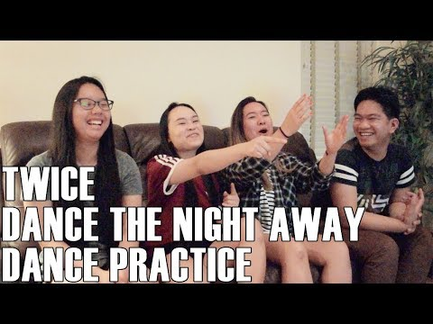 TWICE (트와이스) - Dance the Night Away (Dance Practice) (Reaction Video)