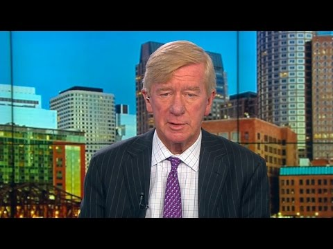 Gov. Bill Weld: Trump is a neo-isolationist