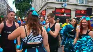 London WORLDPRIDE PARADE DAY Scenes 5 7TH JULY 2012 Lesbian and Gay Pride