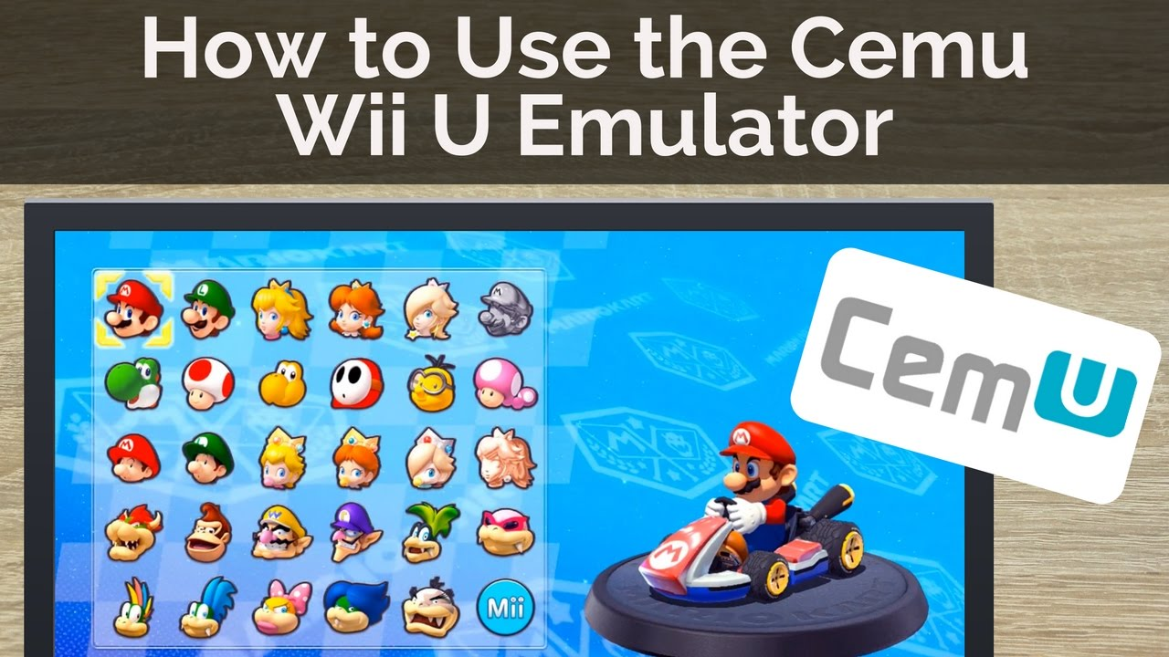 Wii u emulator pc updated version (hitteam) free download youtube.