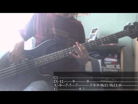 Red Hot Chili Peppers - Under The Bridge [Bass Cover + Tab]
