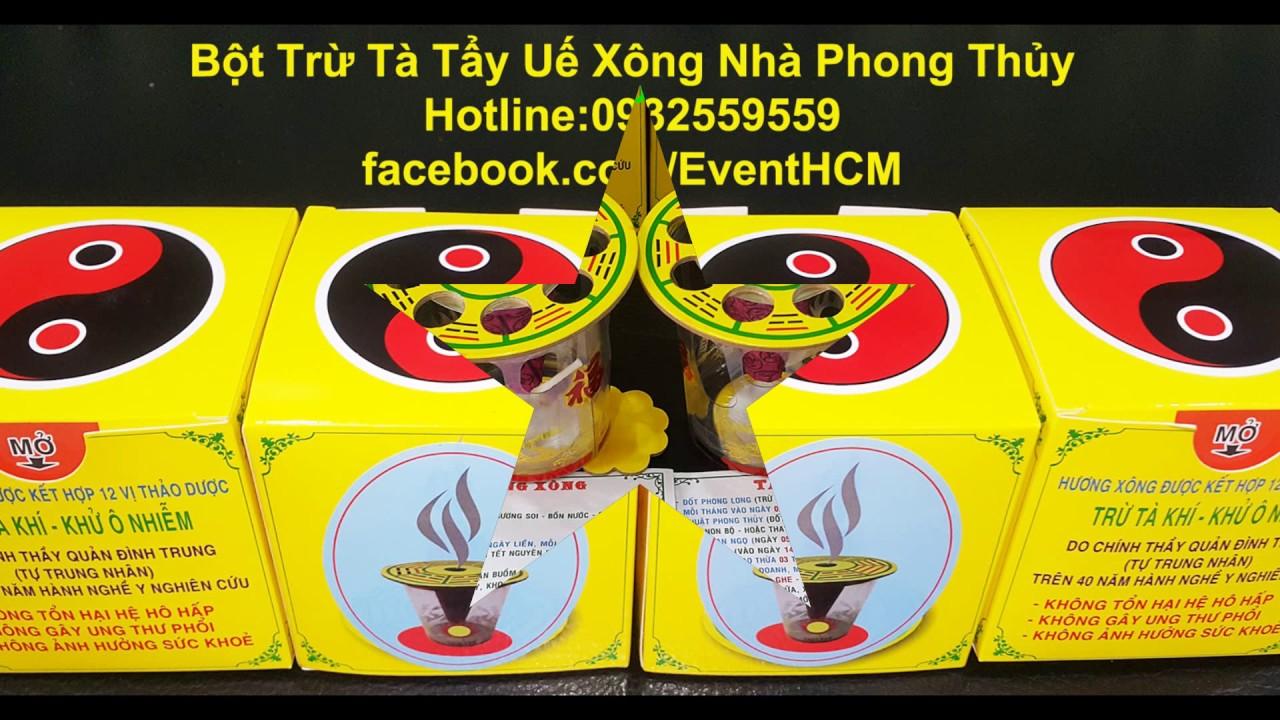 Bột Tẩy Uế Trừ Tà Xông Nhà Phong Thủy TPHCM, Hà Nội