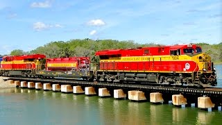 MUST WATCH!!! EPIC WEEK of Fast FLORIDA Railfanning on the Florida East Coast (FEC) Railway!!!