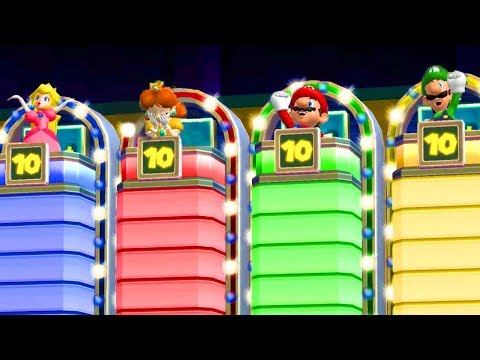 Mario Party 9 - All Lucky Minigames #2