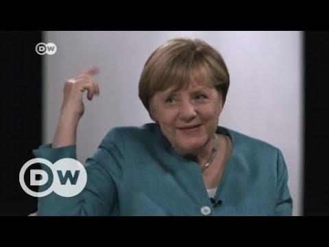 Online-Wahlkampf: Merkel im YouTube-Interview | DW Deutsch