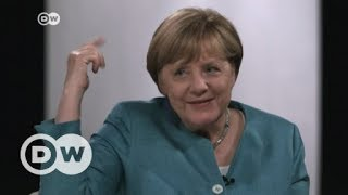 Online-Wahlkampf: Merkel im YouTube-Interview | DW Deutsch