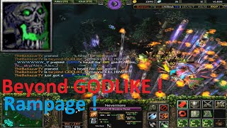 DotA 6.83d - Nevermore, Shadow Fiend Beyond GODLIKE(RAMPAGEE)