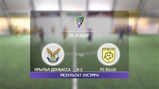 Обзор матча Крылья Донбасса FC Bilux Турнир по мини футболу в Киеве