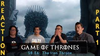 Game of Thrones Season 8 Episode 6 The Iron Throne - Reaction Part 1
