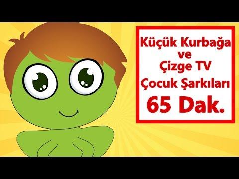 Küçük Kurbağa Şarkısı ve Daha Fazlası | Çizgi Film Çocuk Şarkıları Dinle | Bebek Şarkıları Türkçe