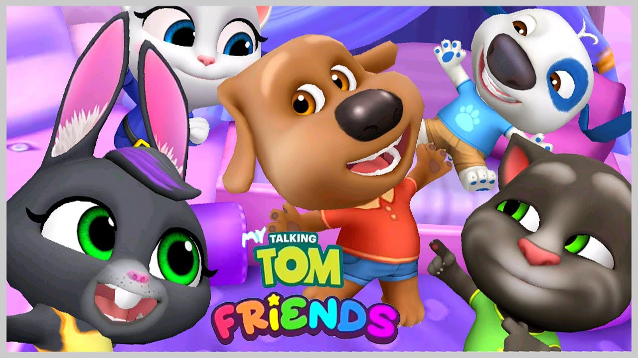 Обновление игры Том Кот и его Друзья новые предметы Джинджер потерялся Игровой Мульт Смотри на OKTV.