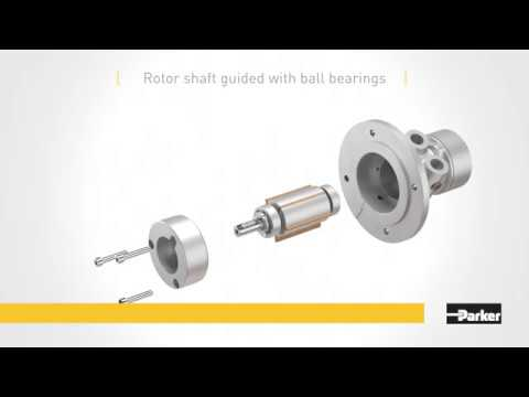 Achieve High Performance With Parker P1V-A Air Motors
