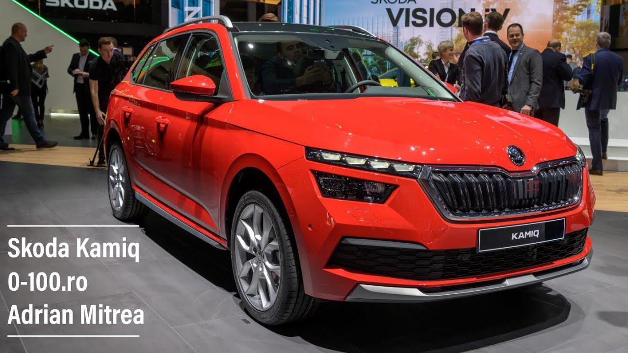 Skoda Kamiq - Geneva Motor Show 2019. Prezentare 0-100.ro / Adrian Mitrea