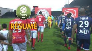 Nîmes Olympique - Valenciennes FC ( 1-0 ) - Résumé - (NIMES - VAFC) / 2017-18