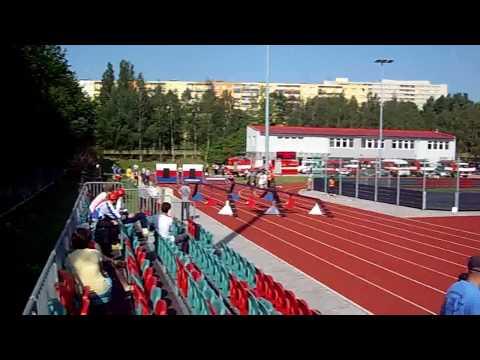 Adam Strakoš - 100m Překážek (1.pokus)