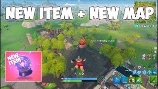 New map + Rift-To-Go Item Gameplay - Fortnite -