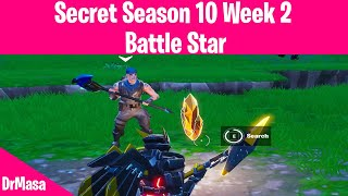 Fortnite | Secret Season 10 Week 2 Battle Star Location Guide