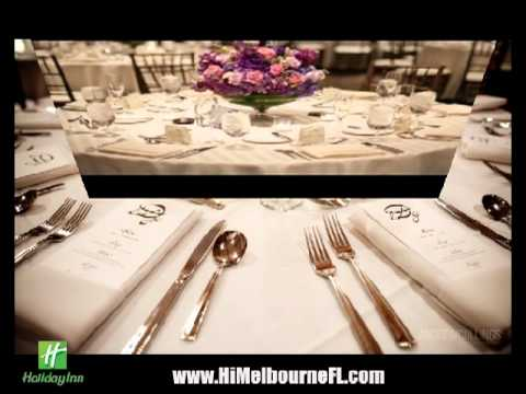 Weddings, Receptions and Events at the Holiday Inn Hotel - Melbourne Viera Florida