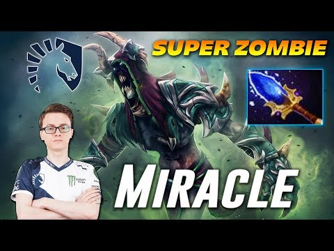Miracle Undying Super Offlane | Dota 2 Pro Gameplay