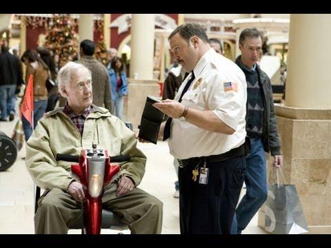 paul blart mall cop takes on nascar doovi