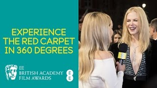 EE BAFTAs 2017: Experience the Red Carpet in 360 degrees.
