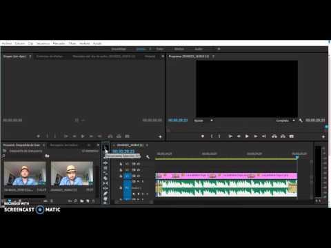 Adobe Premiere - Subir y bajar volumen de un clip