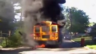 School Bus Driver Saves 20 Kids From Fire