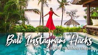 Travel influencer spills her secrets on getting AWESOME Bali Instagram pics! [Instagram Hack]