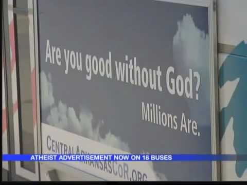 Atheist Bus Ads - Little Rock, AR - Central Arkansas Coalition of Reason - Local news