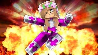 LITTLE KELLY PINK POWER RANGER SAVES THE DAY! Minecraft Superhero (Custom Roleplay)