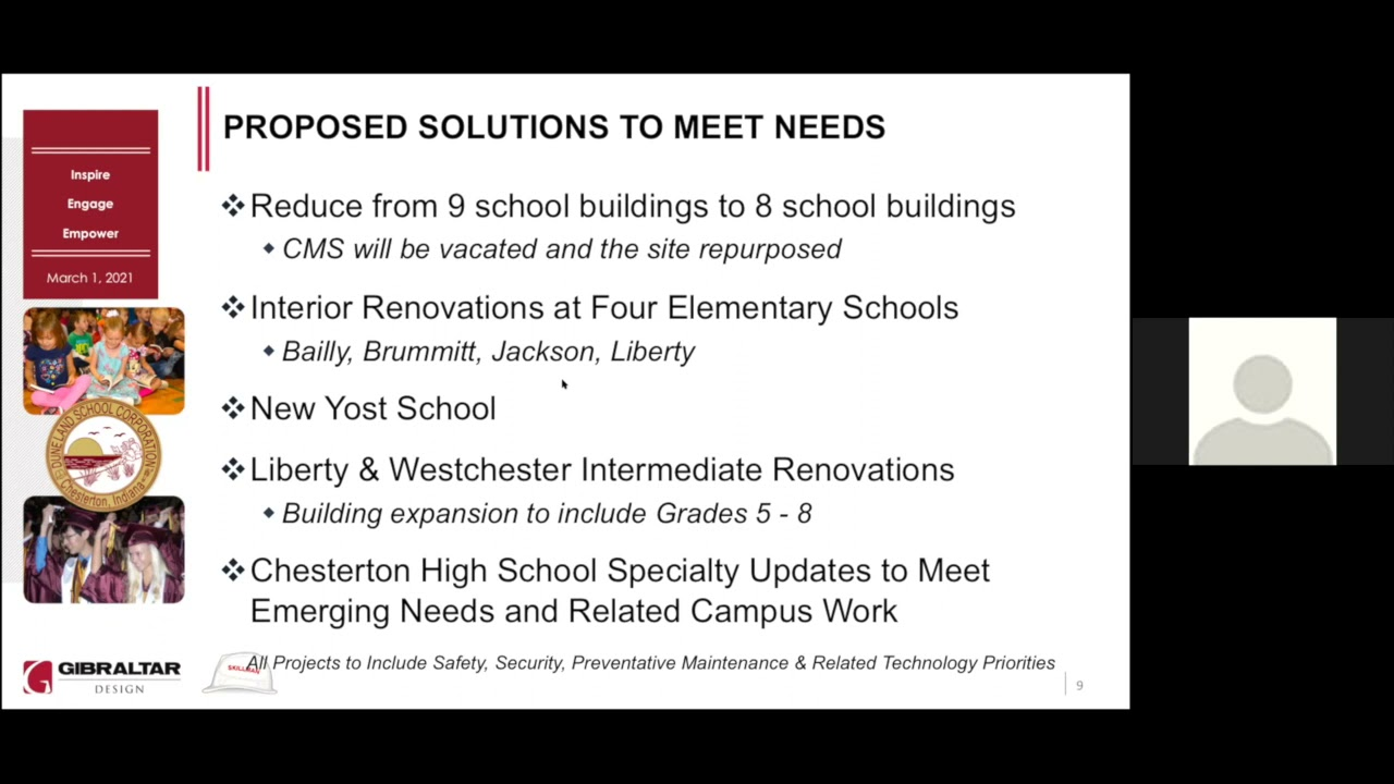 Preparing Duneland Schools for Tomorrow