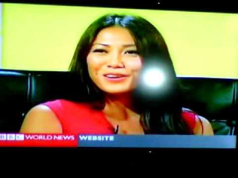 """Anggun Cipta - """"Mishal Husain Meets Anggun"""" on BBC WORLD NEWS TALK 2012"""