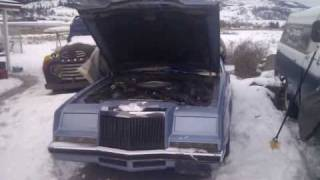 Cold start and info on 81 Imperial FS PART 1